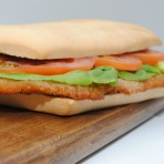 SANDWICH MILANESA POLLO:SIMPLE